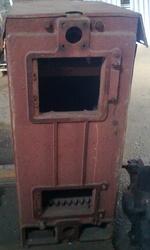 Продам дровяной котел не эксплуатировался.40Квт производство Литва 700