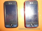 LG gs 290. 2 шт. черный и красный