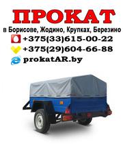 Аренда и прокат прицепов к легковым автомобилям в Борисове,  Жодино