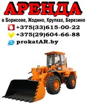 Аренда (услуги) фронтального погрузчика в Борисове,  Жодино,  Крупках
