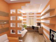 Гипсокартонные работы (потолок,  стены,  арки,  перегородки)любой Ремонт
