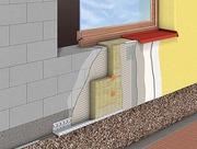 Фасадные работы- штукатурка. покраска,  утепление,  облицов. Строительст