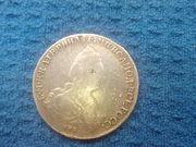 монета Екатерина2