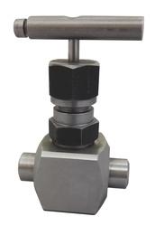 Клапан запорный игольчатый высокого давления (аналог 15с67бк)G1/2-G1/2