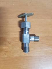 Вентиль угловой цапковый Ду 6-25 Ру 16-45
