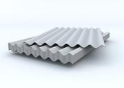 Шифер 8 волновой 1.75х1.13м 5.2мм