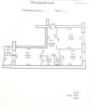 Продам квартиру в новом доме,  двухкомнатная 60, 8м.кв