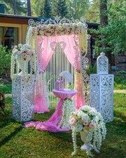 Оформление свадьбы, оформление зала, украшение зала, фотозона, Борисов